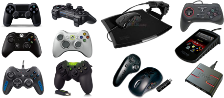 Wired USB Controllers