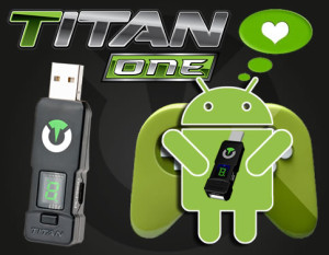 Titan One User Discovers Hidden Android Functionality