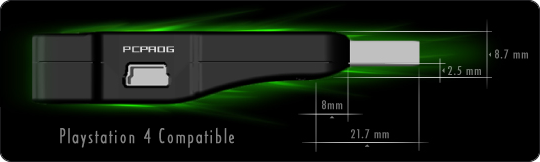 Titan One: compatible with Playstation 4.